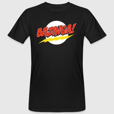 The Big Bang Theory Bazinga teenager T-shirt - Organic mænd
