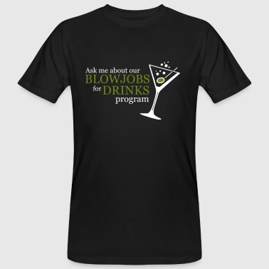 BLOWJOB FOR DRINKS PROGRAM - T-shirt bio Homme