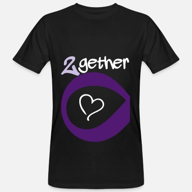 Forever Together Couple Together forever Infinity - T-shirt ecologica da uomo