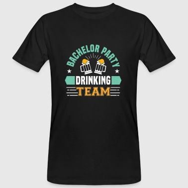Bachelor Party Drinking Team - Camiseta ecológica hombre