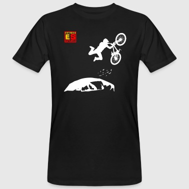 MOUNTAINBIKE EXTREMSPORT - Männer Bio-T-Shirt