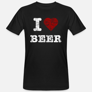 Beer i_love_beer_vintage_hell - Men's Organic T-Shirt