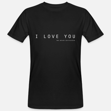 Corporation I Love You by The Nerved Corporation - Ekologisk T-shirt herr
