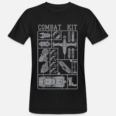 Batman Combat Kit - Männer Bio T-Shirt