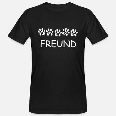 Dog Friend Dog friend - Men's Organic T-Shirt
