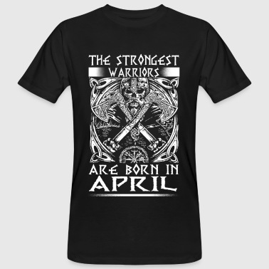 April - Viking - verjaardag - nl - Mannen Bio-T-shirt