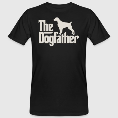 Dogfather The Dogfather - Epagneul Breton Brittany Spaniel - Männer Bio-T-Shirt