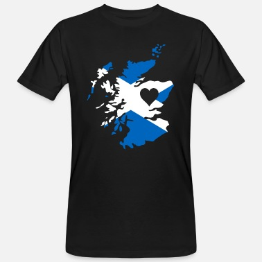 Scottish Love Love Scotland Gift Scottish Pride - Men's Organic T-Shirt