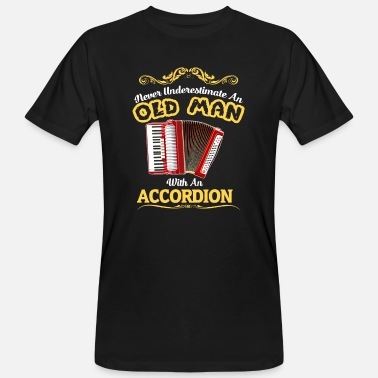 Accordion Accordion player gift accordion musician dad - Men's Organic T-Shirt