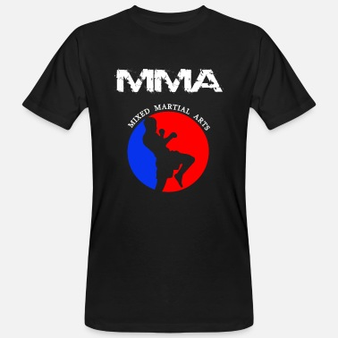 Mixed Martial Arts MMA Mixed Martial Arts - Økologisk T-skjorte for menn