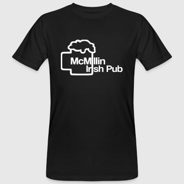Irish Pubs McMillin Irish Pub - T-shirt ecologica da uomo
