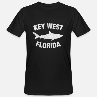 Floride Hai Key West Florida - T-shirt bio Homme