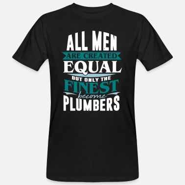 Spengler Plumber Plumber Spengler Construction Worker Construction - Men's Organic T-Shirt