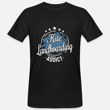 Vintage Clothing Cool Retro Vintage Kite Landboarding Clothes - Men's Organic T-Shirt
