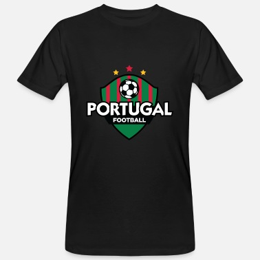 Portugal Football crête du Portugal - T-shirt bio Homme