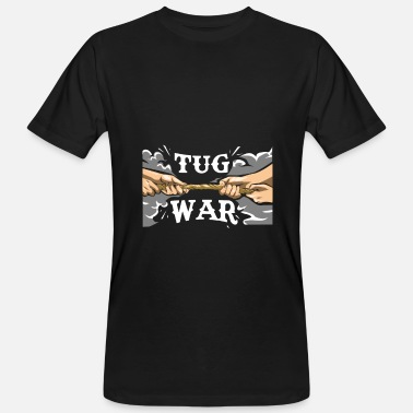 Tug Of War Tug of war sport old team sport gift idea - Men's Organic T-Shirt