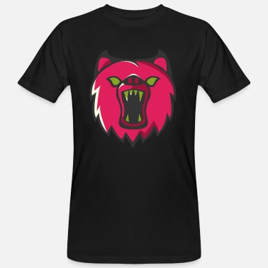 Fou Furieux Ours - T-shirt bio Homme