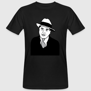Mafia Big Al Capone Gangster Mafia New York brandy - Men's Organic T-Shirt