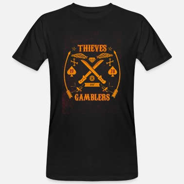 Thieves Thieves and players - Men's Organic T-Shirt