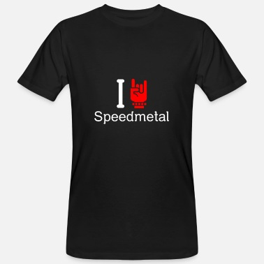 Speed Metal speed Metal - Økologisk T-skjorte for menn