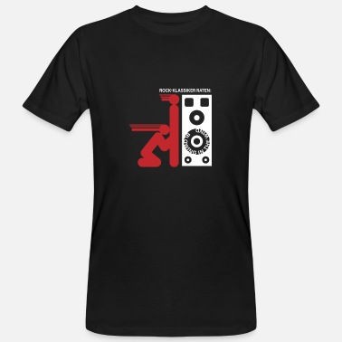 Pictogram Blow Job Rock classic: blowing in the wind Bass Boost Box - Men's Organic T-Shirt