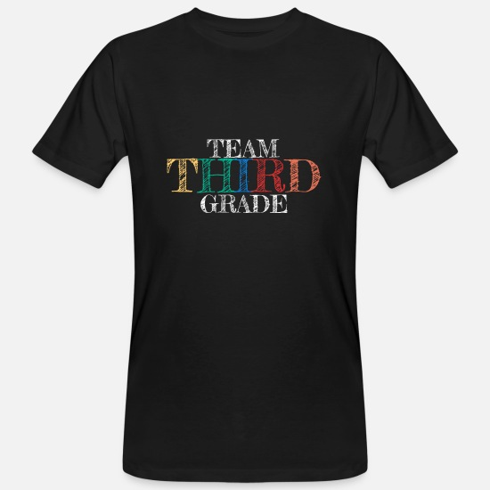Birthday T-Shirts - The third class is the best gift 3 - Men's Organic T-Shirt black