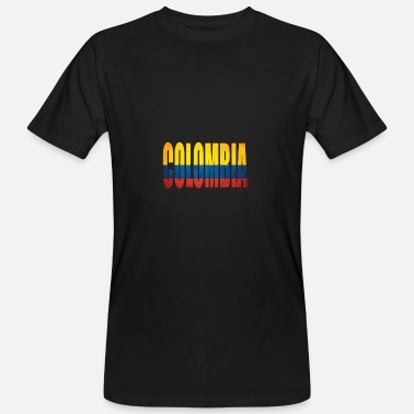 Colombia Colombia - Mannen Bio-T-shirt