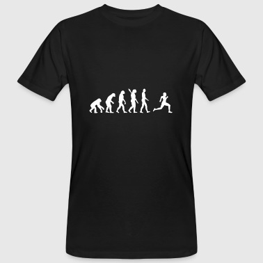 Evolution Running Evolution Run jogging coureur coureurs w - T-shirt bio Homme