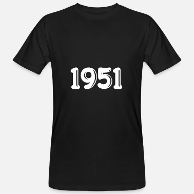 1951 Born in 1951 - Men's Organic T-Shirt