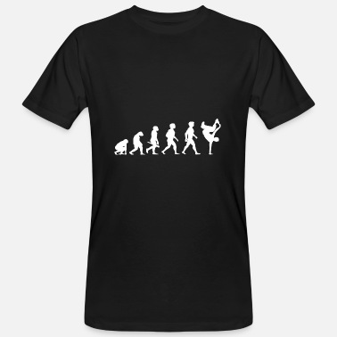 Bboying Evolution Breakdance Breaking Breakdancing Hip Hop - Ekologisk T-shirt herr