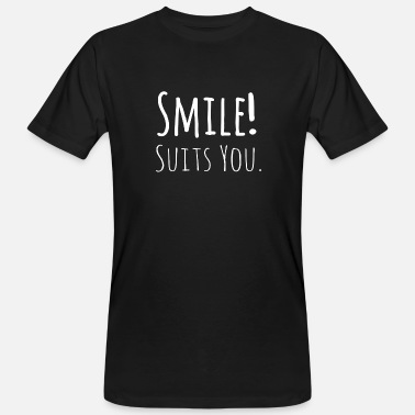 Betting Goods smile - suits you - Men's Organic T-Shirt