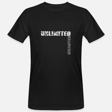 Unlimited Unlimited - Men's Organic T-Shirt