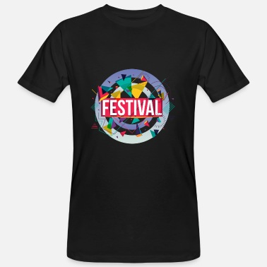 Open Air Festivalconcert Open Air Gift Muziekfeest - Mannen Bio-T-shirt