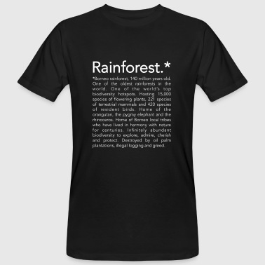 Rainforest borneo - T-shirt bio Homme