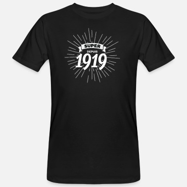 1919 Super sinds 1919 - Mannen Bio-T-shirt