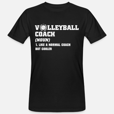 Volleyball Chemise d'entraîneur de volleyball Chemises de volleyball - T-shirt bio Homme