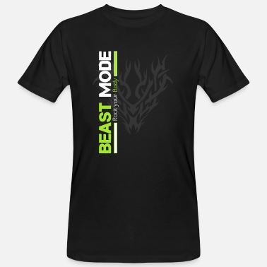 Beast Mode Tribal Beast Mode - Mannen bio T-shirt