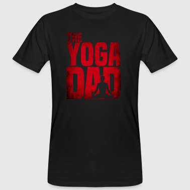 The Yoga Dad - Namaste - Meditation - Vater-Mann - Mannen Bio-T-shirt