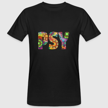 Psychedelisch Party Musik Psy Trance - Männer Bio-T-Shirt