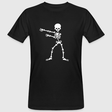 The floss dance flossing backpack boy kid skeleton - Men's Organic T-Shirt