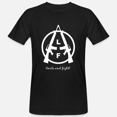 Animal Liberation Front Animal Liberation Front | UNITE AND FIGHT BIO MEN - Männer Bio-T-Shirt