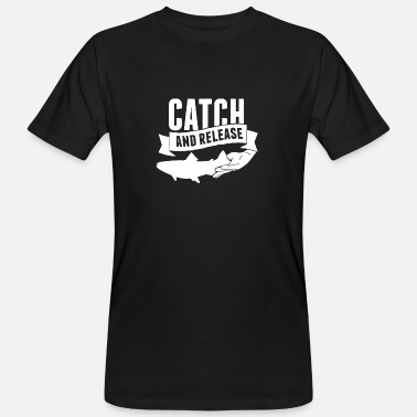 Release Catch and Release C&R - Männer Bio-T-Shirt