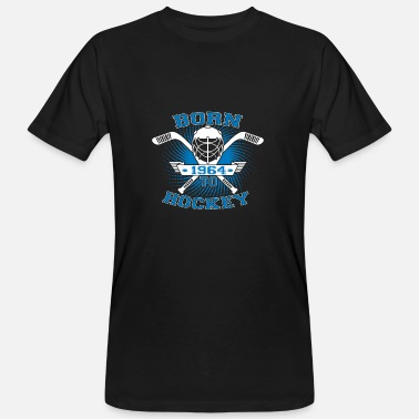 Street Hockey born to hockey street ice - Men's Organic T-Shirt
