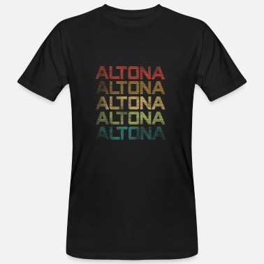 Altona Used Look - Altona di Amburgo - T-shirt ecologica da uomo