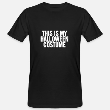 Cheap Trick This Is My Halloween Costume White - Camiseta ecológica hombre