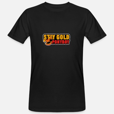Stay Gold Stay Gold Pony Boy Shirt - Gift - Men's Organic T-Shirt