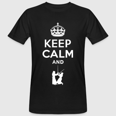 Keep Calm - Kendo - T-shirt bio Homme
