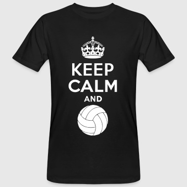 Keep Calm - Volleyball 2 - T-shirt ecologica da uomo