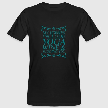 Tantra Yoga Happy Meditation Hatha Tantra Training - T-shirt ecologica da uomo
