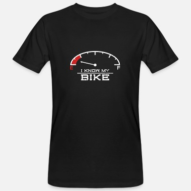 Chopper Motorcycle saying Cross Racer Chopper - Men's Organic T-Shirt